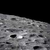 The lunar surface