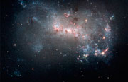 Magellanic dwarf irregular galaxy