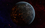 FHV100012S © Stocktrek Images, Inc. Artist's concept of an extraterrestrial planet.