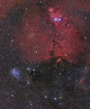 JDA100011S © Stocktrek Images, Inc. Beautiful Nebula in Monoceros.