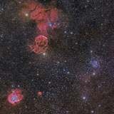 JDA100014S © Stocktrek Images, Inc. Beautiful Nebulae in Gemini Constellation.