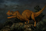 PHB600011P © Stocktrek Images, Inc. Ceratosaurus was a large predatory dinosaur from the Late Jurassic Period