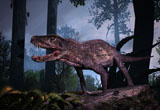 PHB600026P © Stocktrek Images, Inc. Postosuchus was an extinct rauisuchian reptile that lived during the Triassic period.