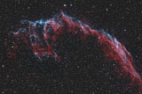 RWT200025S © Stocktrek Images, Inc. NGC 6992, The Eastern Veil Nebula.