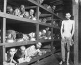 STK106031M © Stocktrek Images, Inc. Slave laborers in a German concentration camp during World War II.