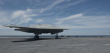 STK107579M © Stocktrek Images, Inc. An X-47B Unmanned Combat Air System launches from USS George H.W. Bush.