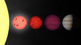 STK201462S © Stocktrek Images, Inc. An artist's rendition comparing brown dwarfs to stars and planets.