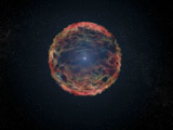 STK204447S © Stocktrek Images, Inc. An artist's impression of supernova 1993J.