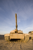 TMO100030M © Stocktrek Images, Inc. M1 Abrams tank at Camp Warhorse.