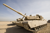 TMO100047M © Stocktrek Images, Inc. M1 Abrams tank at Camp Warhorse.