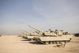 TMO100048M © Stocktrek Images, Inc. M1 Abrams tank at Camp Warhorse.