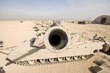 TMO100052M © Stocktrek Images, Inc. M1 Abrams tank at Camp Warhorse.