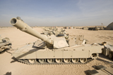 TMO100053M © Stocktrek Images, Inc. M1 Abrams tank at Camp Warhorse.