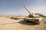 TMO100056M © Stocktrek Images, Inc. M1 Abrams tank at Camp Warhorse.