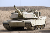 TMO100081M © Stocktrek Images, Inc. M1 Abrams tank at Camp Warhorse.