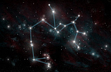MRC200165S © Stocktrek Images, Inc. Artist's depiction of the constellation Sagittarius the Archer.