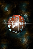 MRC200184S © Stocktrek Images, Inc. An artist's depiction of a theoretical Dyson sphere.