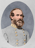 STK500343A © Stocktrek Images, Inc. Portrait of Confederate General Jubal Early.