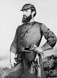 STK500354A © Stocktrek Images, Inc. Three quarter length portrait of General Thomas Stonewall Jackson.