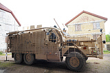 ACH100616M © Stocktrek Images, Inc. A Mastiff 6x6 armored patrol vehicle of the British Army.