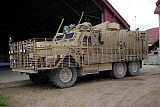 ACH100618M © Stocktrek Images, Inc. A Mastiff 6x6 armored patrol vehicle of the British Army.