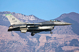 DFC100346M © Stocktrek Images, Inc. U.S. Air Force F-16C Block 40 prepares for landing.