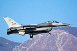 DFC100347M © Stocktrek Images, Inc. U.S. Air Force F-16C Block 40 aircraft.