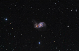 FEN200021S © Stocktrek Images, Inc. Messier 51, the Whirlpool Galaxy.