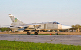 GCA100655M © Stocktrek Images, Inc. Ukrainian Air Force Su-24 at Lutsk Air Base, Ukraine.
