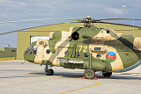 GCA100685M © Stocktrek Images, Inc. Azerbaijan Air Force Mi-17 helicopter.