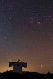 JFD200047S © Stocktrek Images, Inc. Stars of the constellation Orion and Sirius at the Yunnan Astronomical Observatory in China.