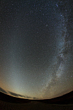 JFD200058S © Stocktrek Images, Inc. The Milky Way rivals with zodiacal light overlooking the Dashanbao Wetlands in China.