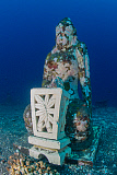 MME400693U © Stocktrek Images, Inc. Submerged Buddha statue in Tulamben, Bali, Indonesia.