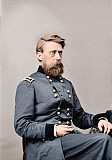 STK500314A © Stocktrek Images, Inc. Major General Jefferson C. Davis of the Union Army, circa 1860.