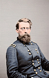 STK500317A © Stocktrek Images, Inc. Major General Jefferson C. Davis of the Union Army, circa 1860.
