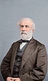 STK500349A © Stocktrek Images, Inc. Portrait of General Robert E. Lee, Confederate States Army.