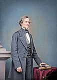 STK500613A © Stocktrek Images, Inc. Jefferson Finis Davis, President of the Confederate States of America.