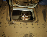 STK500972A © Stocktrek Images, Inc. June 1942 - Tank driver looking out window, Fort Knox, Kentucky.