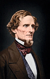 STK501195A © Stocktrek Images, Inc. Jefferson F. Davis portrait, circa 1860.
