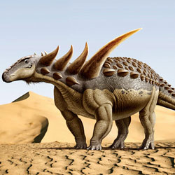 ARMORED DINOSAURS Stock Photos and Pictures