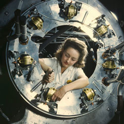 WOMEN OF WORLD WAR II Stock Photos and Pictures