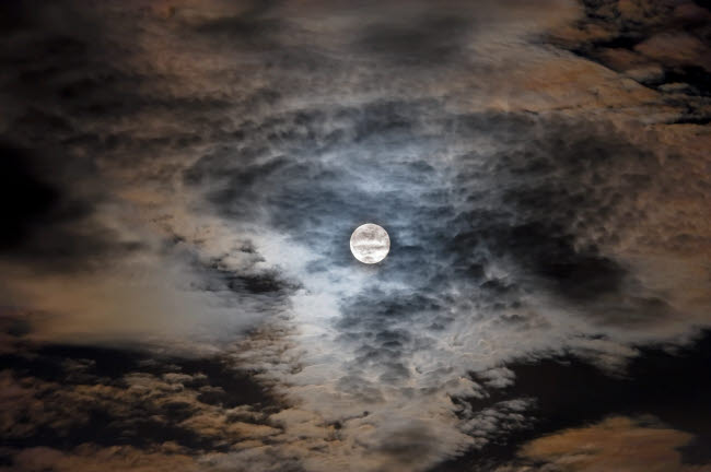 ADY200072S © Stocktrek Images, Inc. Full moon in clouds.