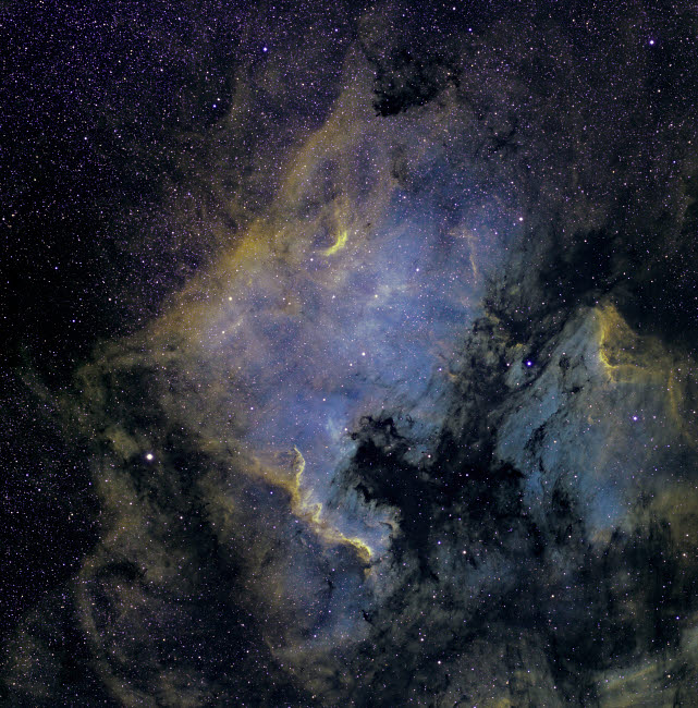 JON100028S © Stocktrek Images, Inc. The North America Nebula and the Pelican Nebula in the constellation Cygnus.
