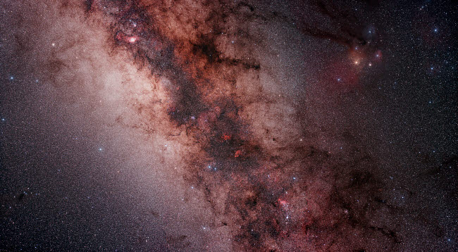 PHA100008S © Stocktrek Images, Inc. Stars, nebulae and dust clouds around the center of the Milky Way.