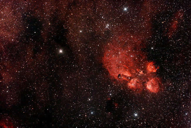 PHA100012S © Stocktrek Images, Inc. Cat's Paw Nebula in Scorpius