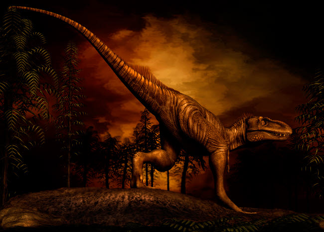 PHB600007P © Stocktrek Images, Inc. Bistahieversor was a tyrannosaurid dinosaur from the Late Cretaceous Period.