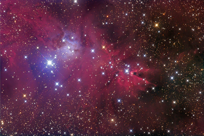 RIT100034S © Stocktrek Images, Inc. The Cone Nebula