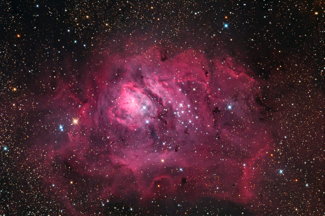 RIT100037S © Stocktrek Images, Inc. The Lagoon Nebula