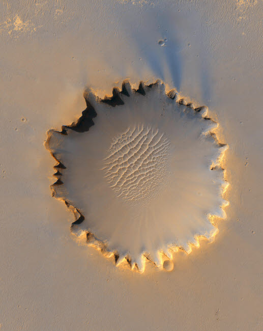 STK201427S © Stocktrek Images, Inc. Victoria Crater on Mars