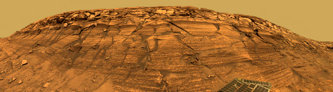 STK202115S © Stocktrek Images, Inc. View of Burns Cliff on Mars.